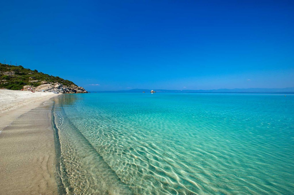 Best Beaches Located In Halkidiki Rent Room In Frau Irene